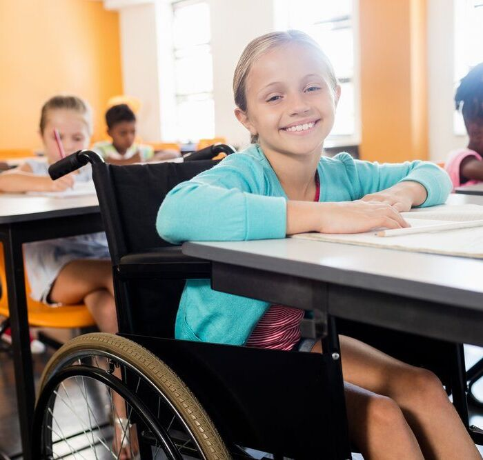 Student with Cerebral Palsy